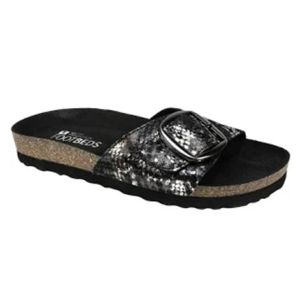 64284827ff7e White Mountain Women s Cork Sandals